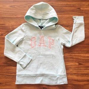 Girls Gap Logo Hoodie Pullover